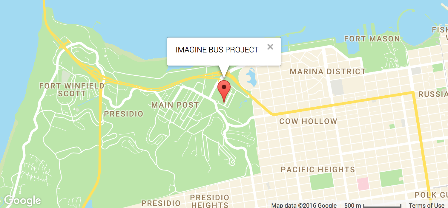 ImagineBusProject Map